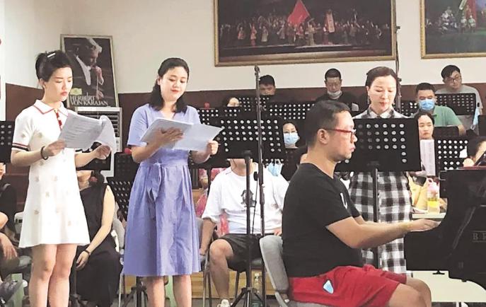 湖北省打造抗疫题材民族歌剧 《天使日记》下月首演