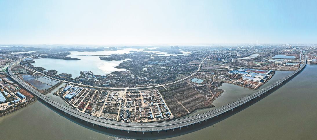 武汉四环线东北段30日零时开通 节前全线通车运营