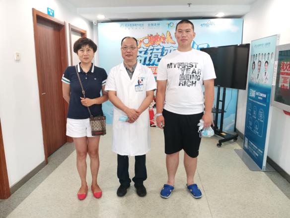 """沈阳母子乘机来汉做近视手术 体验专家量""""眼""""定制服务"""