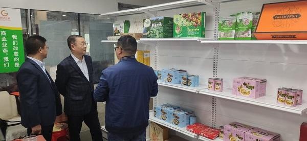 汉口银行江夏支行积极拓宽结对片区农副产品销售渠道
